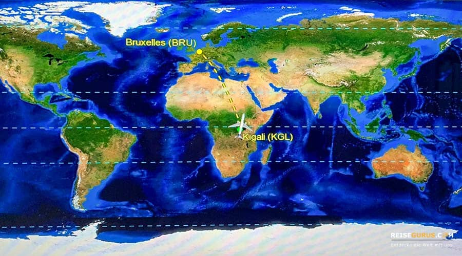 Anreisen Ruanda Urlaub Reisetipps
