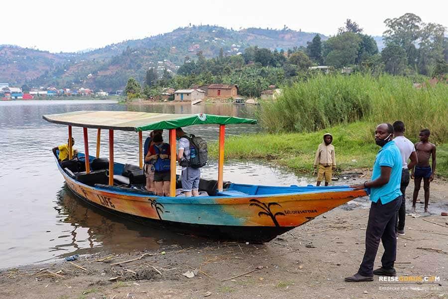 Lake Kivu in Ruanda