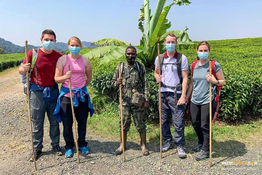 Aktivitäten im Nyungwe Nationalpark