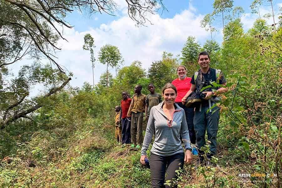 Nyungwe Forest Trekking Tour