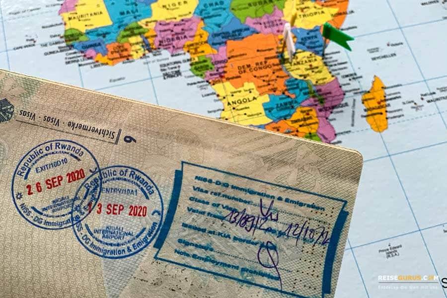 Ruanda Visum