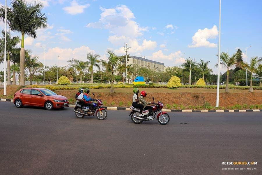 Ruanda Fortbewegung