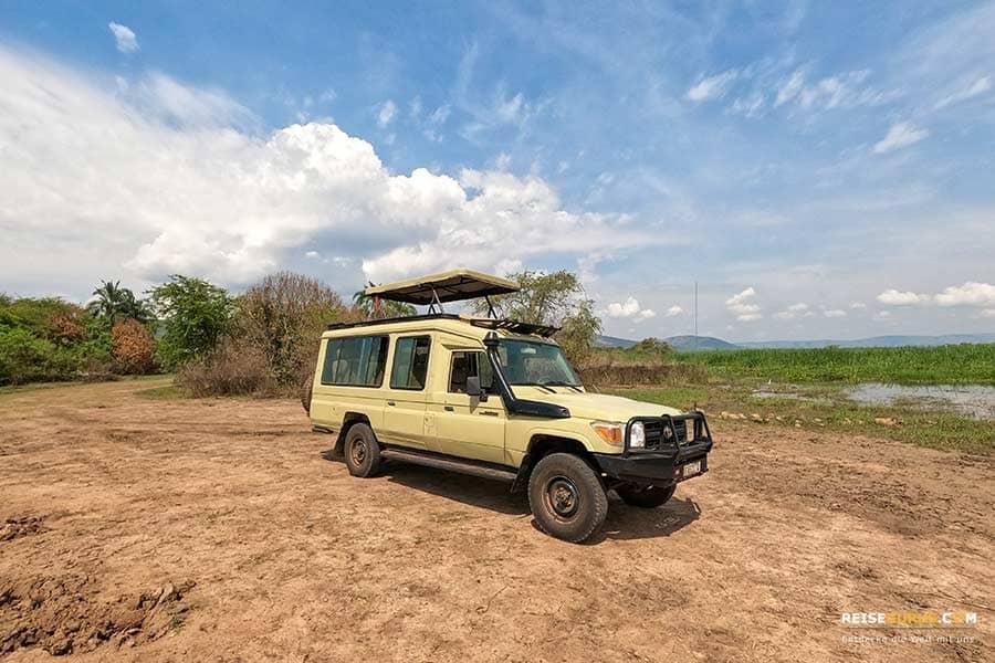 Safari Ruanda