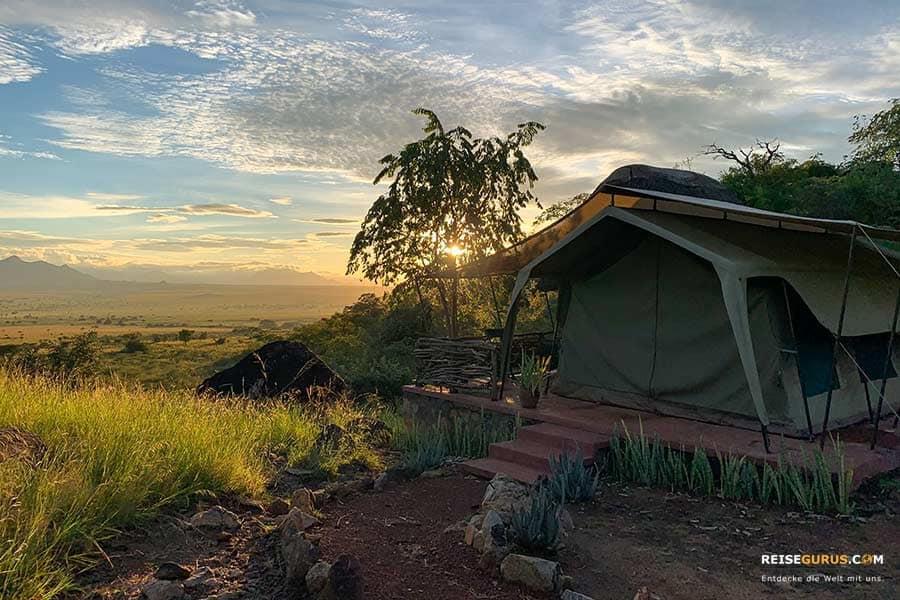Kidepo Nationalpark Lodges