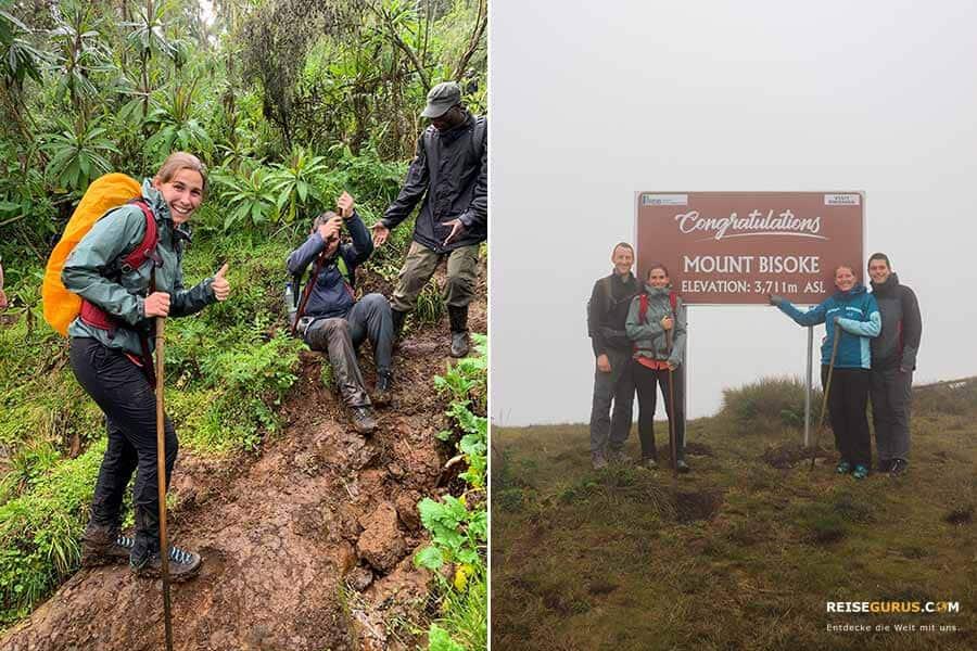 Mount Bisoke Ruanda