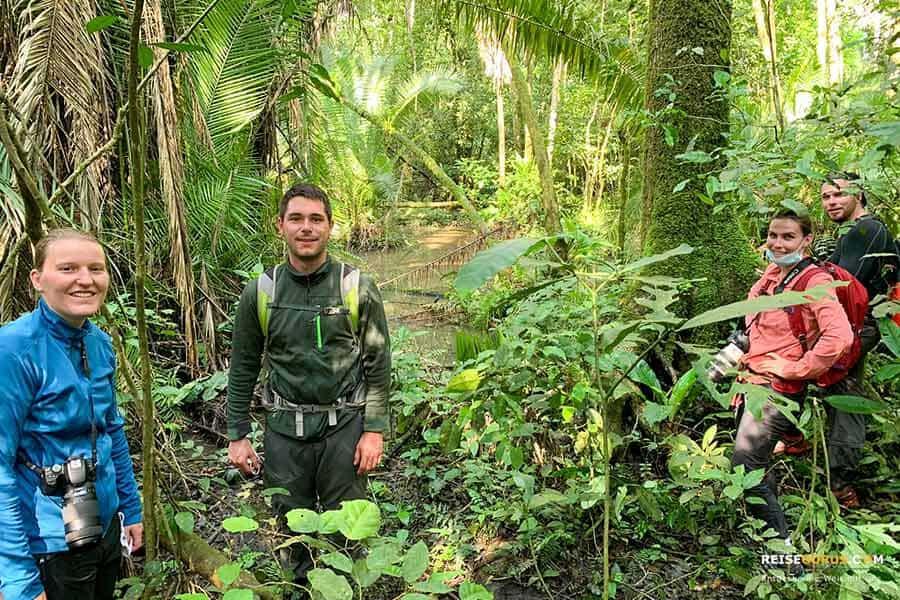 Trekking in Uganda