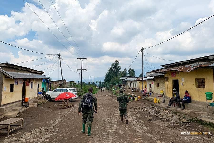 Volcanoes Nationalpark Ruanda Anfahrt