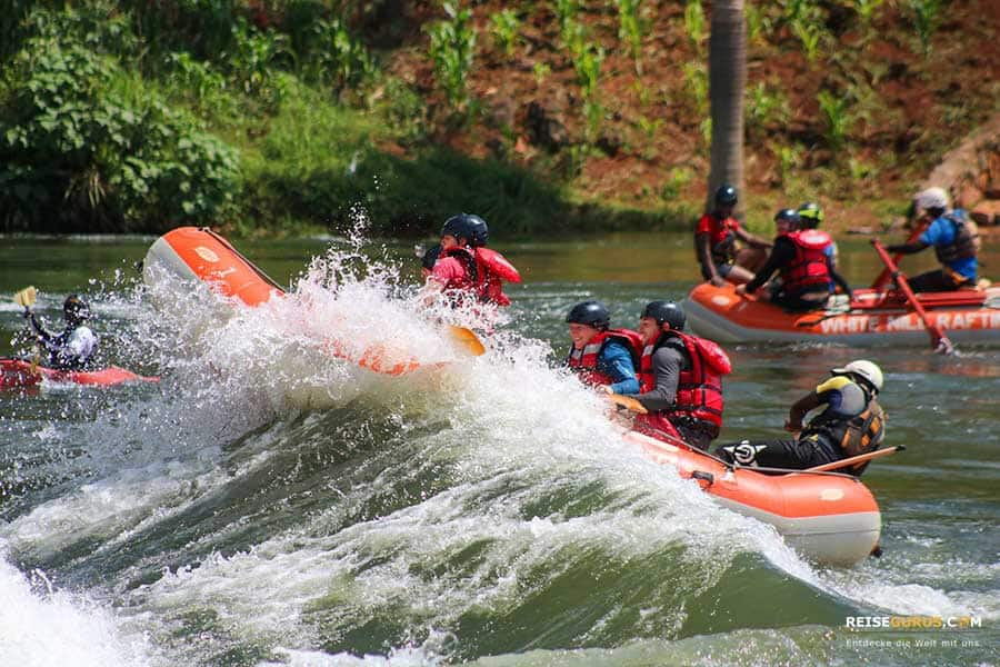 Jinja Nil Rafting