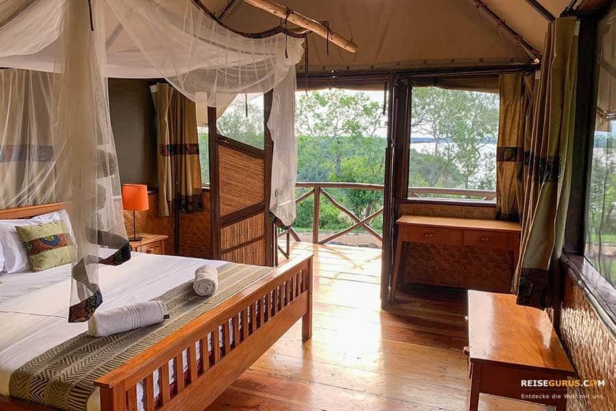 Lodges Queen Elizabeth Nationalpark