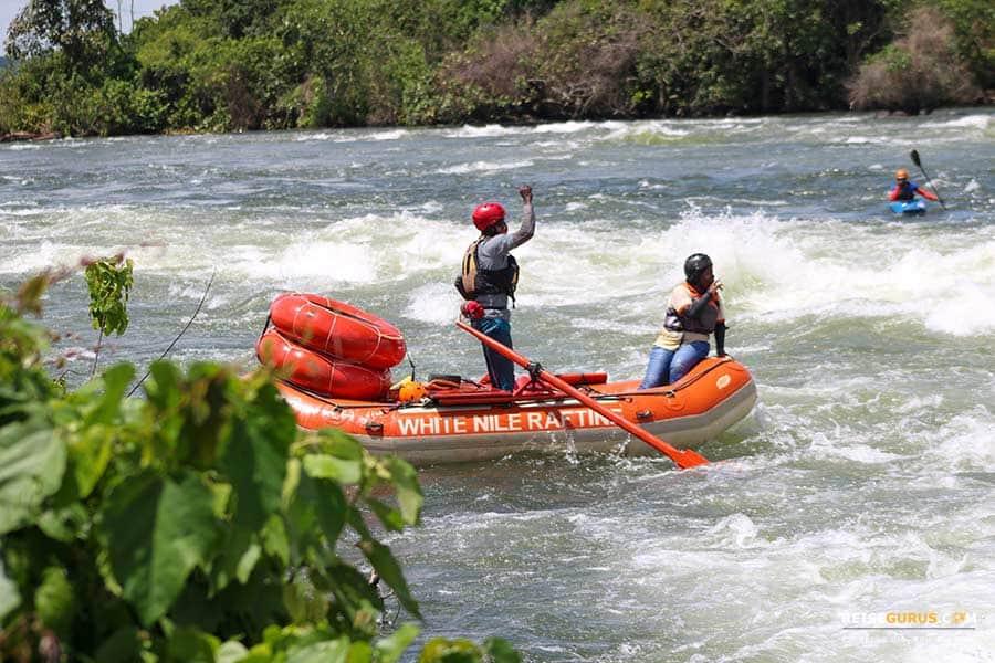 Nil Rafting Jinja