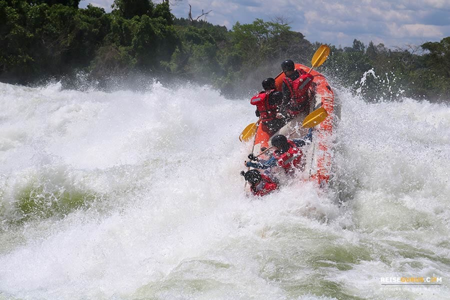 Nil Rafting in Jinja