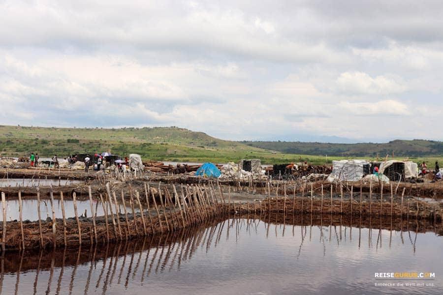Salzsee Lake Katwe