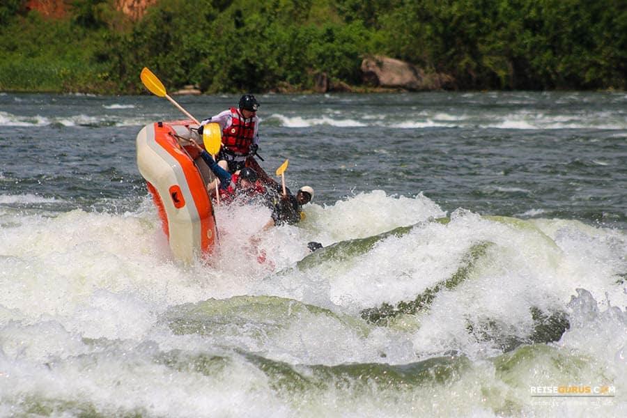 White Nile Rafting in Uganda