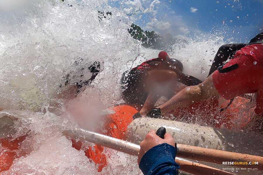 White Nile Rafting