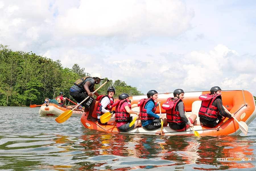 Wildwasser Nil Rafting in Jinja