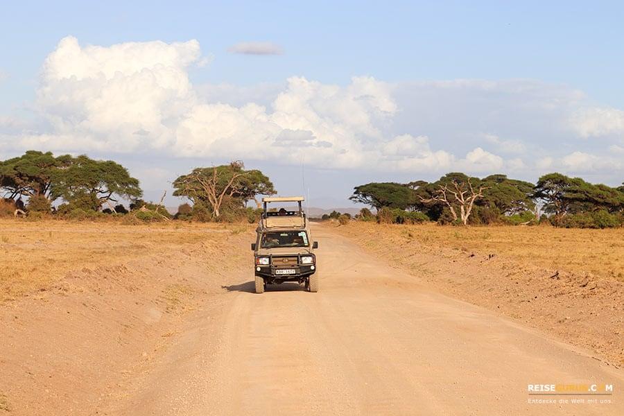 Amboseli Nationalpark Anreise