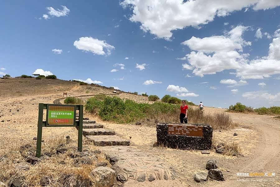 Aussichtspunkt im Amboseli Nationalpark