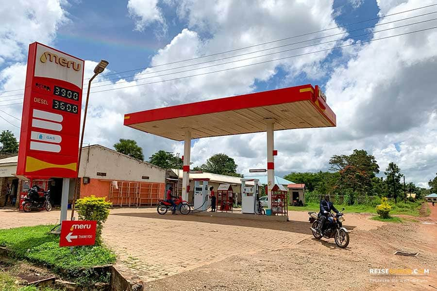 Auto fahren in Uganda