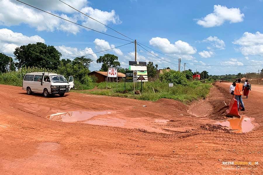 Autofahren Uganda
