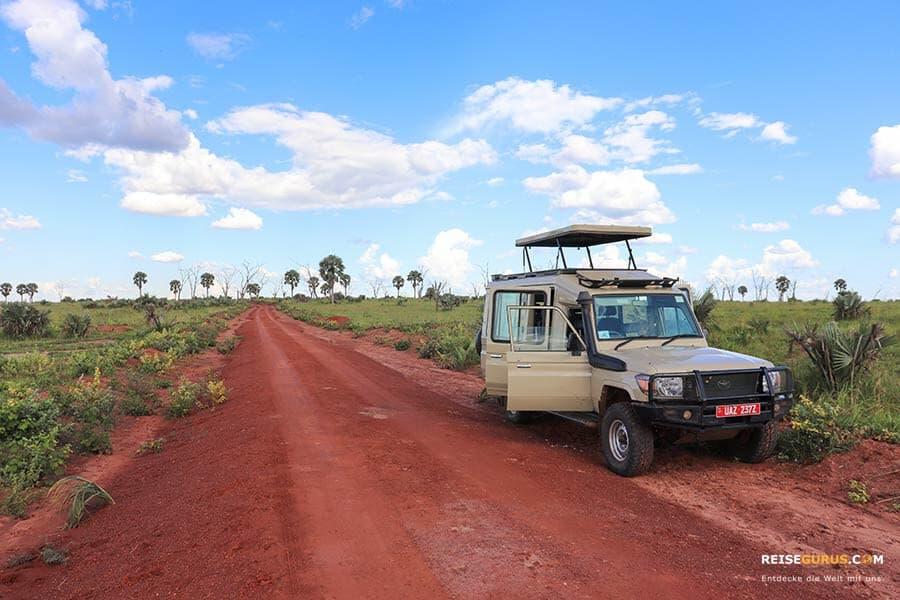 Autofahren in Uganda