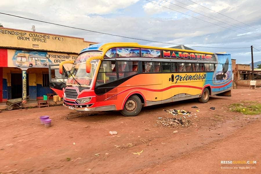Fortbewegung in Uganda