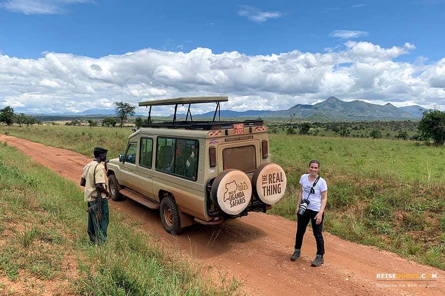 Selbstfahrer in Uganda