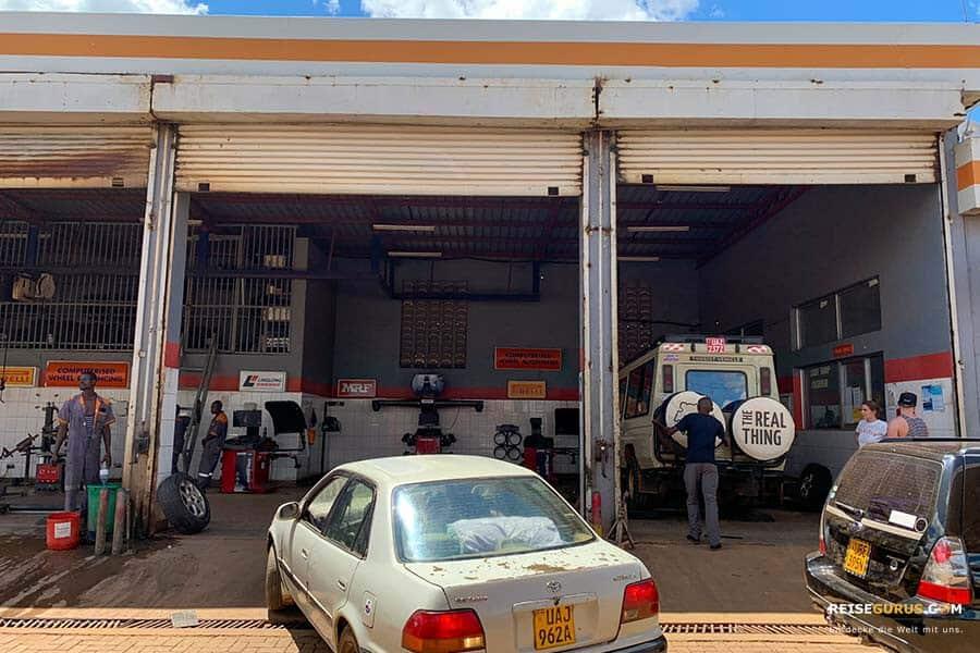 Uganda Mietwagen
