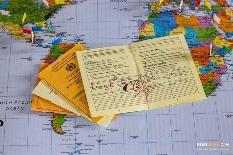 Urlaub in Uganda Impfungen