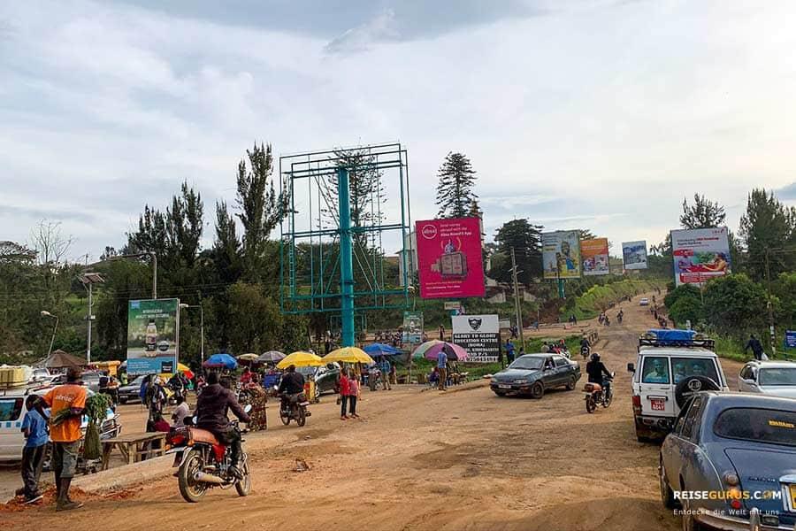 Verkehrsregeln in Uganda