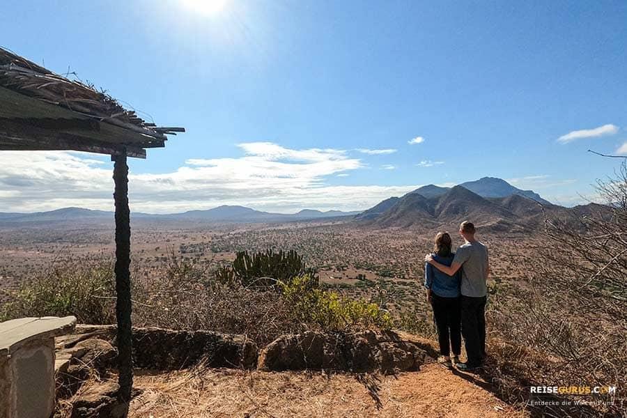 Aussichtspunkte Tsavo West Nationalpark