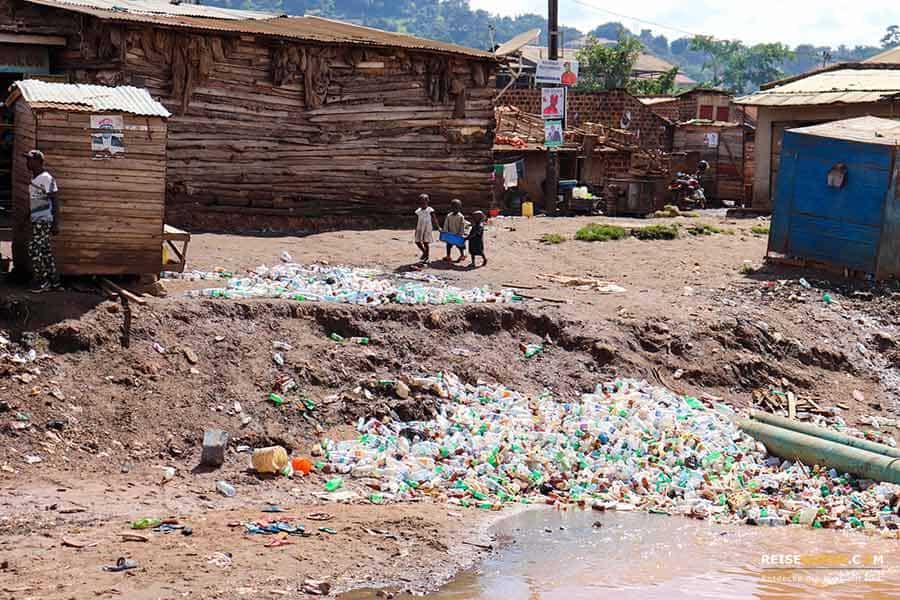 Plastikmüll reduzieren beim nachhaltigen Reisen