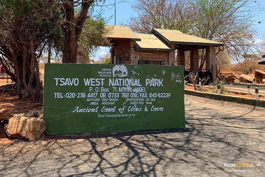 Tsavo West Nationalpark Anreise