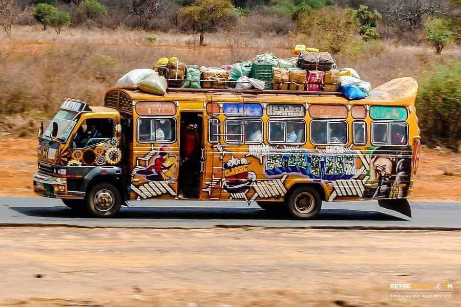 Fortbewegung in Nairobi