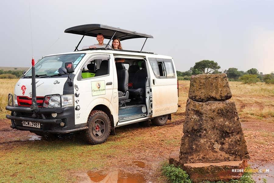 Grenze Kenia Tansania
