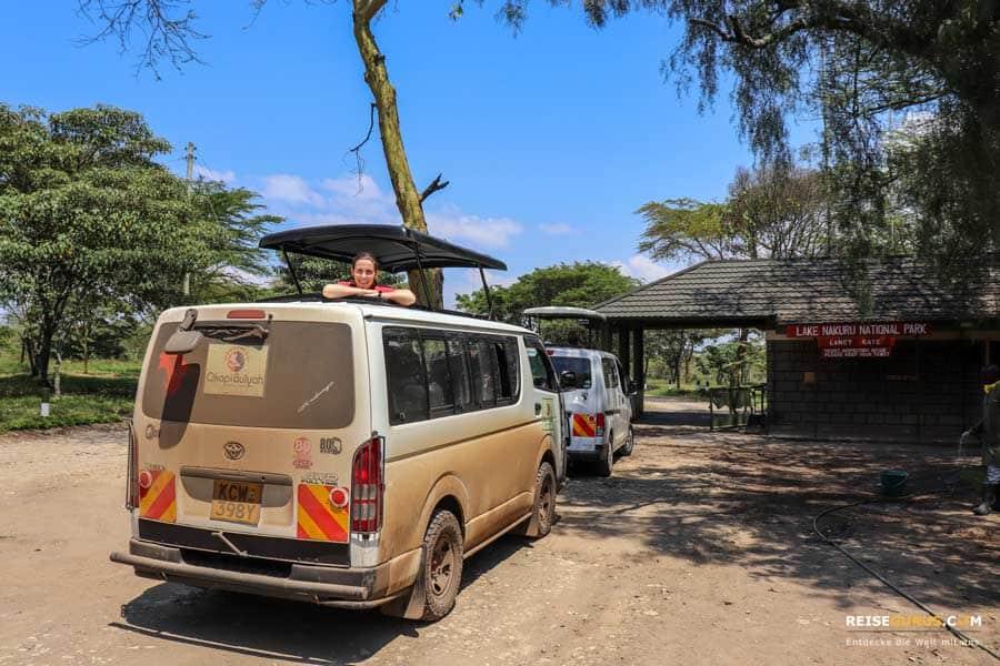 Lake Nakuru Nationalpark in Kenia