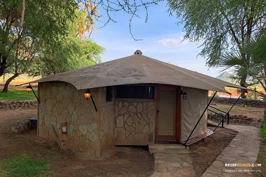 Lodges im Samburu Nationalpark