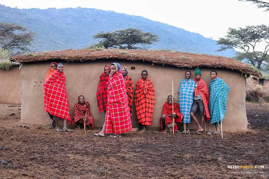Massai Dörfer
