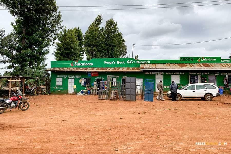 Geld abheben in Kenia
