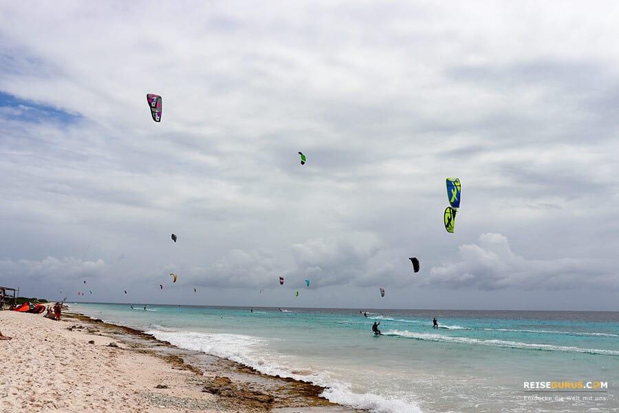 Kitesurfen auf Bonaire
