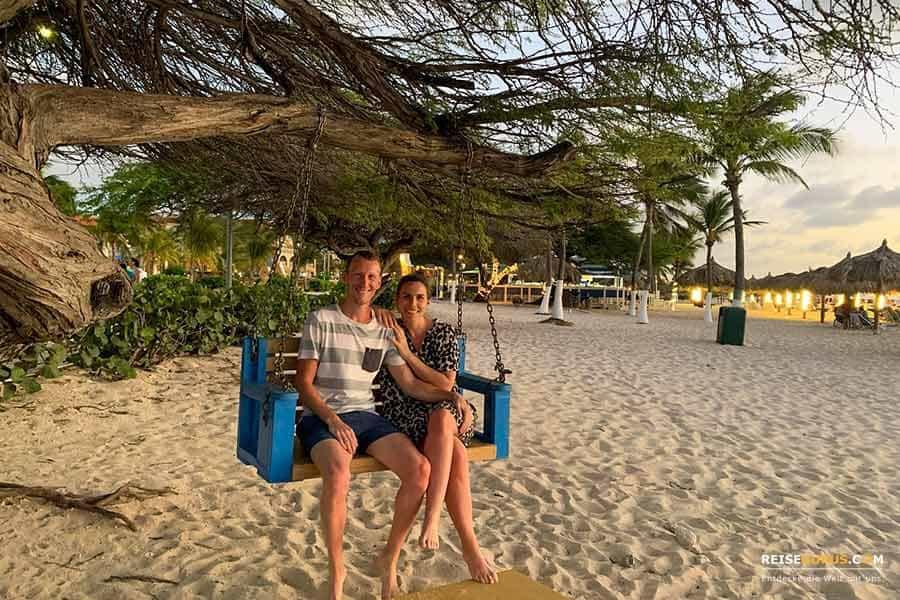 Traumstränden auf Aruba