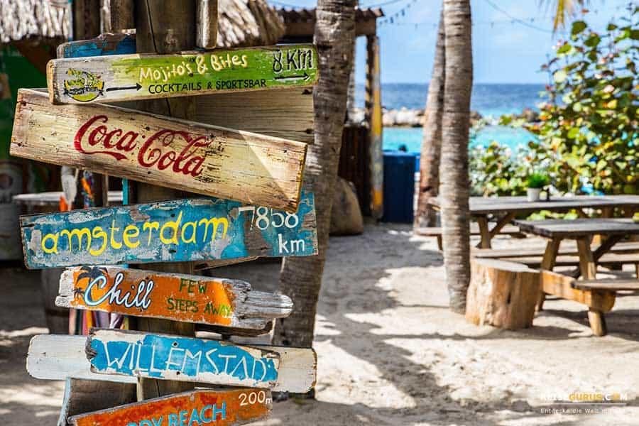 die besten Curacao Strände